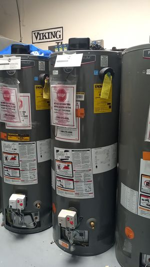 Rheem Performance Platinum Water Heater 40 and 50 gal for Sale in Inglewood, CA