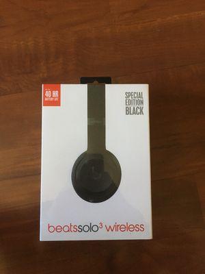 Dr Dre beats solo 3 wireless for Sale in Covina, CA