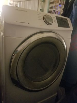Samsung Electronic dryer with cracked drum for Sale in Las Vegas, NV