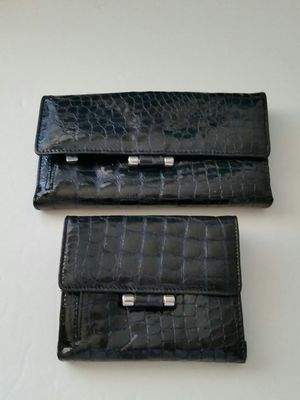 2 Americana Blue Patent Leather Wallets for Sale in West Bloomfield Township, MI