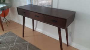 Wooden,3 drawer desk for Sale in West Hollywood, CA