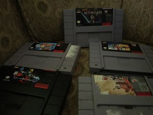 Super Nintendo games for Sale in Silver Spring, MD