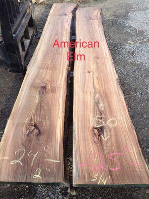 American elm live edge slabs for Sale in Elmira, NY
