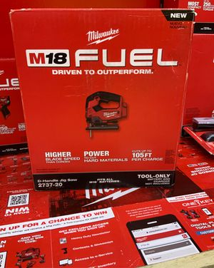 Milwaukee m18 jigsaw brand new in box tool only for Sale in Duncanville, TX