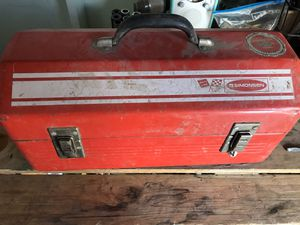 Vintage Simonsen Rally Line Tool Box for Sale in Rancho Cucamonga, CA