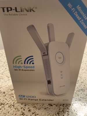 WiFi Range Extender high speed/Extendedor de señal WiFi de alta velocidad for Sale in Chino, CA
