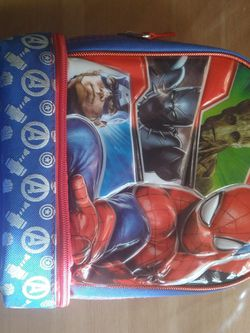 Marvel Adventure Lunch Bag Spiderman Captain America for Sale in South Gate,  CA
