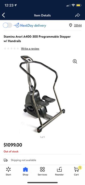 Stamina Avari A400-300 programmable stepper for Sale in Miami, FL