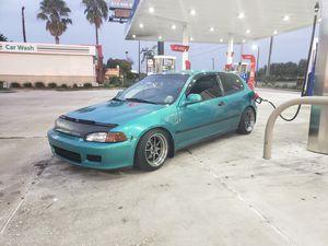 93 Honda Civic hatchback for Sale in Land O Lakes, FL