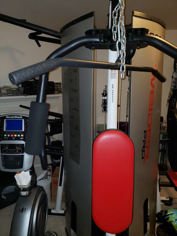 Weider Pro 4900 exercise machine