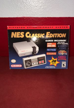NES classic edition for Sale in Bismarck, ND