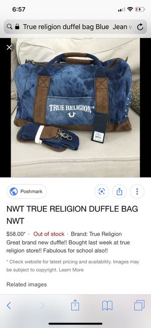 Duffel bag for Sale in Turlock, CA