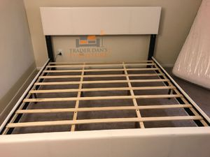 Brand New King Size Leather Platform Bed Frame for Sale in Silver Spring, MD