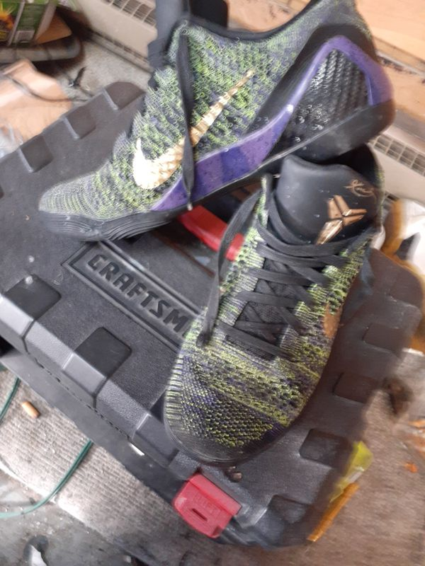 Kobe 9 limited run Special I.D production size 11.5