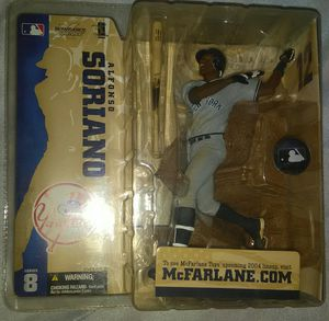 Alfonso Soriano Yankees McFarlane for Sale in Sanborn, NY