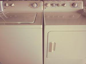 Beige Ge washer dryer for Sale in Orlando, FL