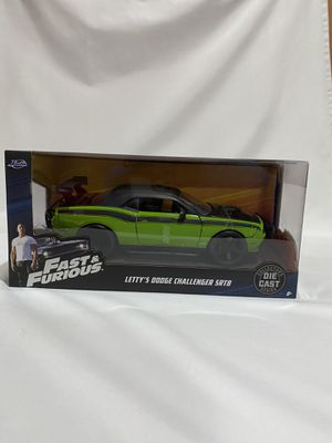 Fast and Furious Dodge Challenger SRT8 Collectible Car Toy for Sale in Los Angeles, CA