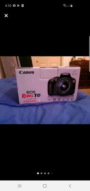 EOS Canon REBEL T6 for Sale in Avondale Estates, GA