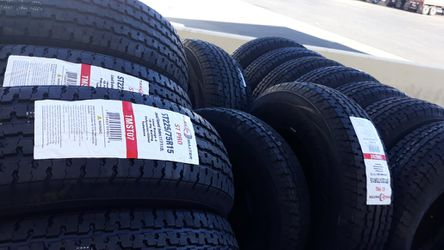 st225 75 r15 trailer tires 4new 10ply$260 for Sale in Los Angeles,  CA