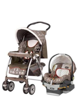 Chicco stroller baby carrier and car base for Sale in Boston, MA