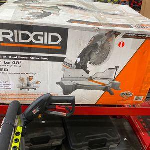 "Ridgid 12"" Miter Saw (asking $260) for Sale in La Habra, CA"
