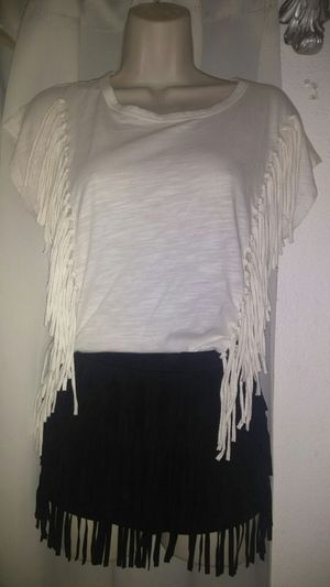 NEW FRINGED SHIRT SMALL sz for Sale in Riverside, CA