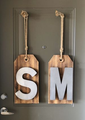 S & M wall hanging art for Sale in Columbus, OH
