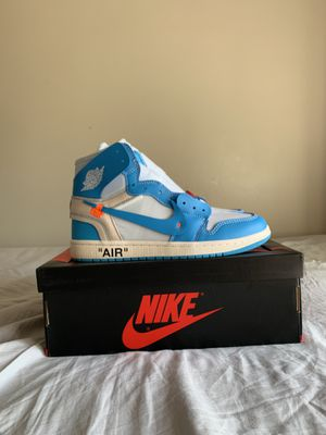 Nike off white Jordan 1 unc for Sale in Waterford Township, MI