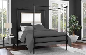 Queen canopy bed frame for Sale in Lawrence, IN