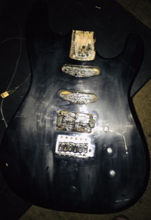 1989 Fender Squier II Stratocaster Body Project for Sale in Mesa, AZ