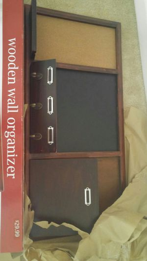 New wooden wall organizer for Sale in Gaithersburg, MD