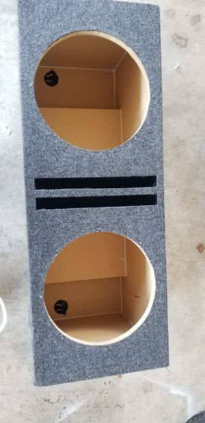 """12"""" ported subwoofer box like new for Sale in UPR MARLBORO, MD"""