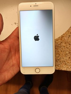 Iphone 6s pro with screen protector and 2nd generation apple air buds for Sale in Tempe, AZ