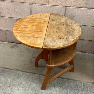 Primitive Style / Vintage Drop Leaf Table for Sale in Ladera Ranch, CA