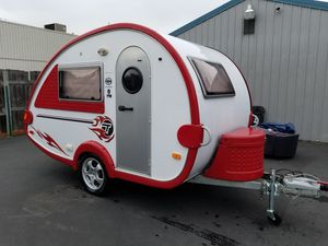 Used only 1 time must sell asap 2008 tab camper for Sale in Renton, WA