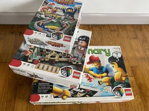 3 boxes of 3 LEGO game sets , Race 3839, Harry Potter 3862, Creationary 3844 for Sale in Everett, WA