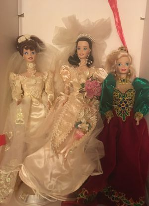 3 nice porcelain Barbie doll lot for Sale in Winter Park, FL