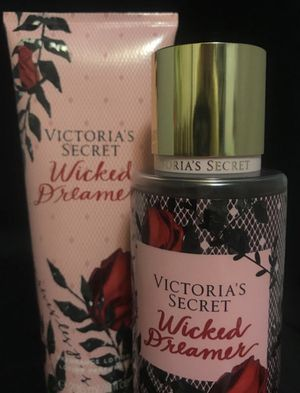 "Victoria's secret ""wicked dreamer"" set - brand new fragrance mist body spray and full-sized matching lotion for Sale in Indianapolis, IN"
