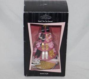 Hallmark Barbie Shoe Tree Ornament 2004 45th Anniversary Christmas Ornament for Sale in Seattle, WA