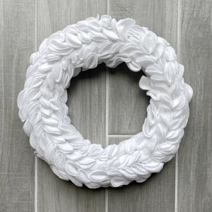 Handmade White Christmas Felt Indoor Wreath for Sale in Largo, FL