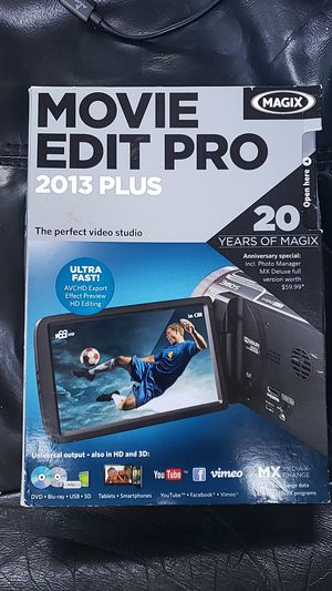 Magic movie edit pro 2013 for Sale in Oregon City, OR