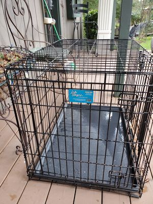 """Pet Crate, w/ liner tray 36""""L × 24""""W × 27""""H for Sale in Bonney Lake, WA"""