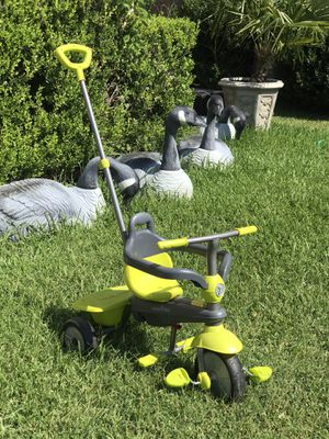 Push like new kids tricycle price firm for Sale in Arlington, TX