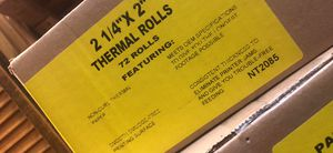 Thermal paper rolls for Sale in San Jose, CA