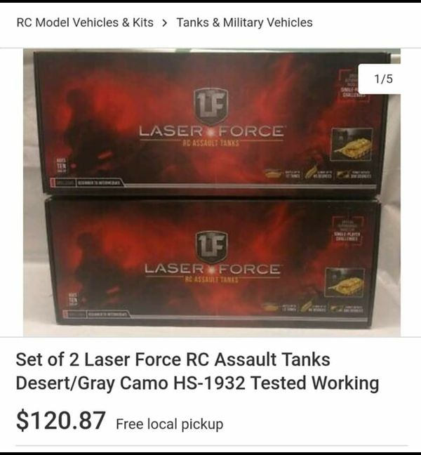 #2 Rtv remote control tanks
