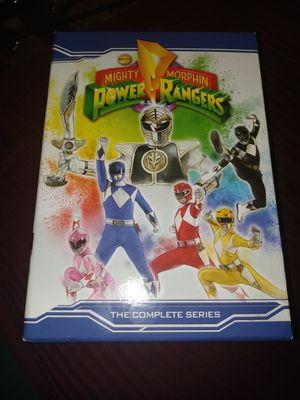 Might Morphin Power Rangers ( complete DVD collection) for Sale in Phoenix, AZ