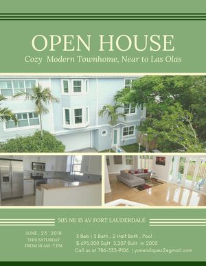 Modern Townhome 3 Story 3 Bed 3 Bath, 2 Half Bath Near Downtown ,Airport,Las Olas Blvd for Sale in Fort Lauderdale, FL