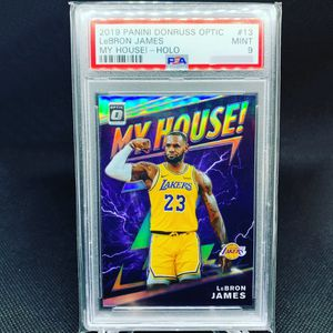 2019 Optic My House Holo LeBron James PSA 9 Mint! for Sale in La Mirada, CA