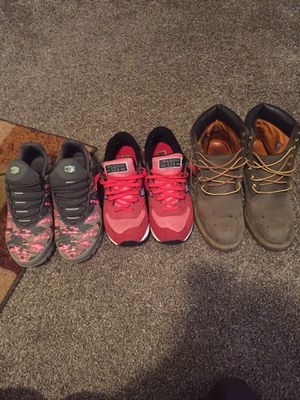Nike Air Max size 10 TIMBERLAND BOOTS SIZE 9.5 New Balance Shoes Size 10 for Sale in Detroit, MI