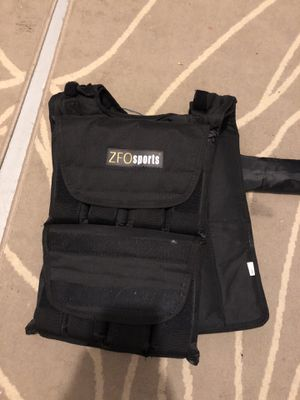 ZFO Sports weight vest for Sale in San Diego, CA